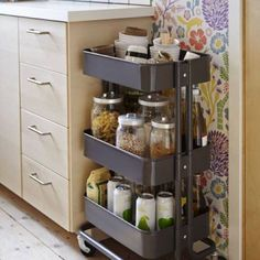 Happy almost New Year! Are you ready to get organized? I love this little cart from IKEA. We use a similar one in my son's room as a nightstand. It's perfect for maximizing a small space! See more easy organizing ideas to jumpstart the new year on the blog today! Link in profile! #smallspace #organization #theinspiredroom