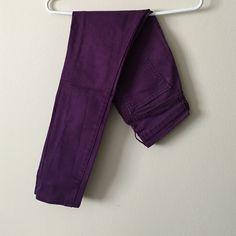 Purple skinny jeans Skinny jeans Old Navy Pants Skinny