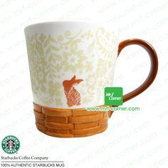 S024 12oz Starbucks Mid-Autumn Rabbit White Mug