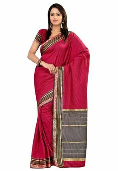 Fabdeal Indian Designer Cotton Multicoloured Plain Saree Fabdeal, http://www.amazon.de/dp/B00INWMK3M/ref=cm_sw_r_pi_dp_bg7otb1N35MB0
