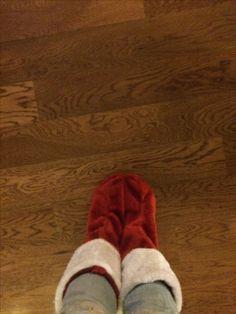 I made a use of stockings I made them socks