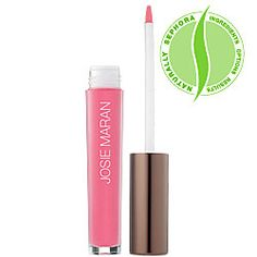 Josie Maran - Natural Volume Lip Gloss. So far this is the longest wearing lip gloss I've tried...