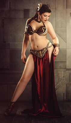 Finally, a Slave Leia who's not stick thin and still rockin' it