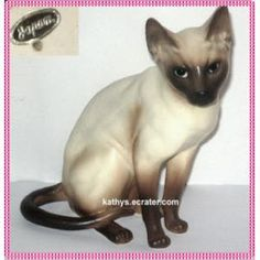 Joseph Originals Sitting Siamese Cat