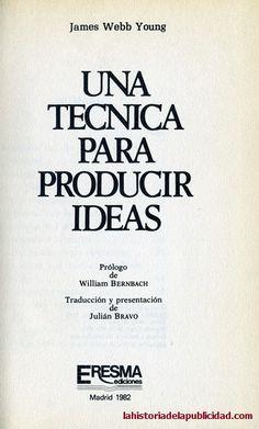 Los primeros libros de publicidad