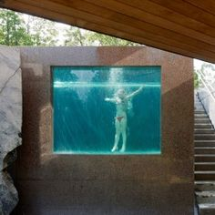 cool swimming pool - perfect for Austin!