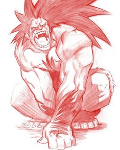 Blanka commission from a comic con years back I think. Crunch time continues so the archives will hopefully satiate the Soshell Meadea Beast... #blanka #streetfighter #capcom #pinterest #tumblr #blogger #twitter #colerase