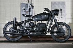 matte black ass - kicker #BMW #motorcycle