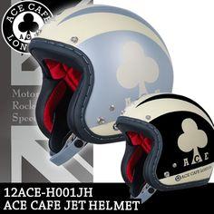 【送料無料】 クローバーがとってもキュート。Baico限定レディースサイズ ACE CAFE LONDON ジェットヘルメット /女性用/レディース/バイク/ジェットヘルメット/オープンフェイスヘルメット/ACE CAFE LONDON/エースカフェロンドン/クローバー/可愛い/イギリス【楽天市場】