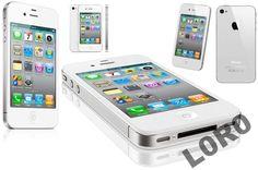 NOWY APPLE IPHONE 4S 8GB BIAŁY WHITE FOLIA SKLEP