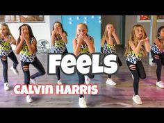 Feels - Calvin Harris - Cover by RoadTrip TV - Easy Kids Dance Choreography - Katy Perry - Pharell - YouTube