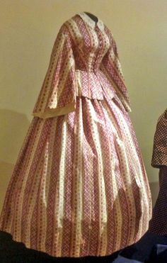 Civil War gown from the Susan Greene Historic Clothing Collection, John L. Wehle Gallery