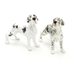 Great Dane Dog Ceramic Figurine Salt Pepper Shaker Uncrop Ears 00021 Ceramic Handmade Dog Lover Gift Collectible Home Decor Art and Crafts by Great Dane - madamepOmm -. $59.00. Great Dane Dog Lover Ceramic Original Handmade Hand Paint Salt and Pepper Shaker Figurine Ceramic Home Decor Collectibles  Made of ceramic porcelain high fired interior apply clear under-glaze, food safe painted with attention hand painted acrylic paint then apply clear gloss protected....