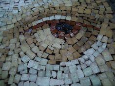 mosaic st peter's basilica, eye St Peters Basilica, Stepping Stones, Mosaic, Italy, Eye, Outdoor Decor, Beautiful, Home Decor, Eyes
