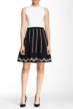 This black and white skirt that looks a little Anthropologie-ish.