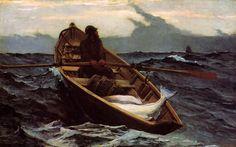 Winslow Homer   The Fog Warning  1885