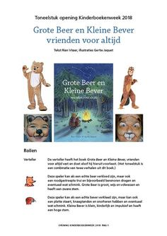 Kinderboekenweek 2018: Vriendschap | Rian Visser I Smile, Make Me Smile, Teaching, Movie Posters, Film Poster, Education, Billboard, Film Posters, Onderwijs