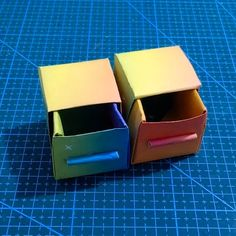 20 DIY Easy and Cute Paper Boxes for Storage Solutions – JunePet Paper Boxes, Storage Boxes, Storage Solutions, Origami, Diy And Crafts, Easy Diy, Crafty, Cute, Cards