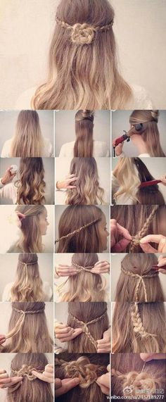 flower braid Tutorial