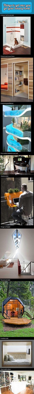 Escritorio de terraza y Rincón de lectura