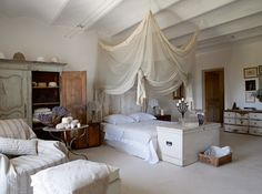French style bedroom..