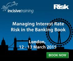 Managing Interest Rate Risk in the Banking Book on March 12-13, 2015 at 09:00-17:00. This seminar will address the likely key features of the new regulation in order to allow attendees to discuss practical approaches that they can implement within their respective banks. Category: Talks and Lectures. Artists: Paul Newson, Keith Rhodes, Kristina Frykstad. URLs: Inquiries: http://atnd.it/17189-1, Twitter: http://atnd.it/17189-2. Prices: £1899-£2399.