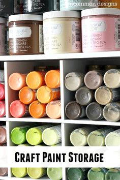 18 Wonderful French Country Decorating Ideas Craft Paint Storage, Craft Organization, Mason Jar Crafts, Mason Jar Diy, French Style Chairs, Space Crafts, Craft Space, Room Tour, Do It Yourself Home