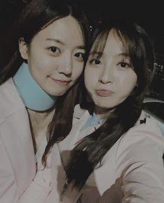 Apink namjoo with jung hye sung