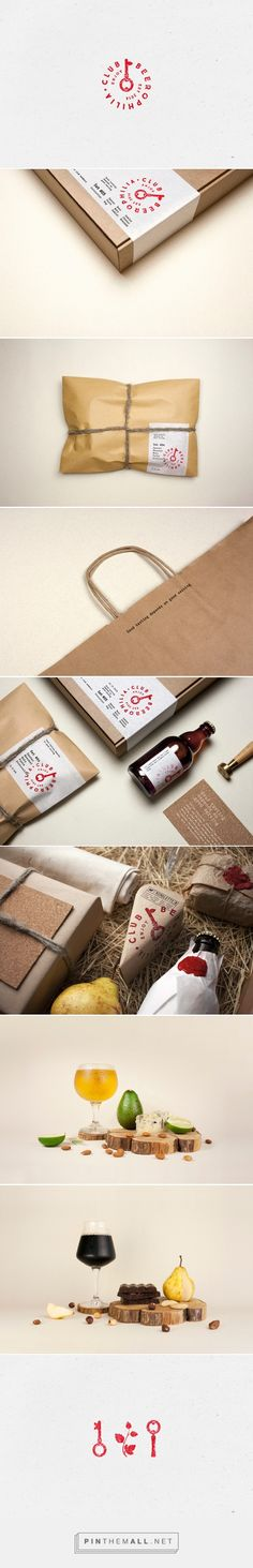Beerophilia Club packaging design by Molto Bureau - http://www.packagingoftheworld.com/2016/10/beerophilia-club.html