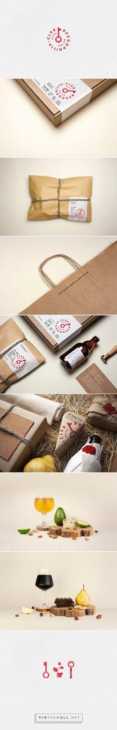Beerophilia Club packaging design by Molto Bureau - http://www.packagingoftheworld.com/2016/10/beerophilia-club.html