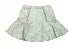 Self-made skirt #flaredskirt #14panels #silk-linen #soproud :')