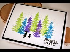 Holiday Card Series 2015 Bright Christmas Card with Newton's Nook Designs - YouTube