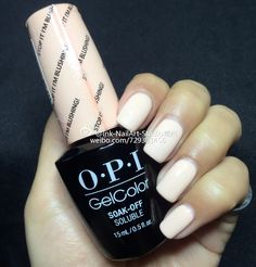 opi 2016 soft shades-pastels Gelcolor 1