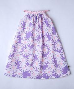 Look at this #zulilyfind! Purple & Pink Reversible Swing Dress - Infant, Toddler & Girls by Llum #zulilyfinds