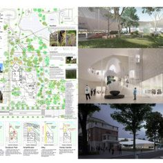 Liew . Nishizawa . DBJ . Contemporary Museum . Adelaide (13) Landscape Diagram, Ryue Nishizawa, Contemporary Museum, Desktop Screenshot, Floor Plans, Presentation Boards, Art, Art Background, Kunst