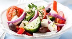 Salade grecque à la fetaVoir la recette >>