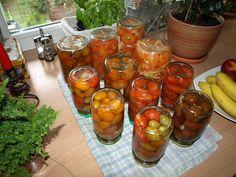 Gotujący facet: Pomidorki koktajlowe w zalewie octowej