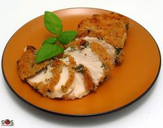 SOSCuisine: Basil Crisp Chicken Breast