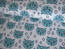 """Jersey Andrea Lauren """"Crystal Cats"""" Andrea Lauren, Shops, Quilts, Crystals, Cats, Decor, Fashion Styles, Fabrics, Tents"""