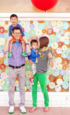 Family Picture Clothes by Color Series-Multi - Capturing Joy with Kristen Duke