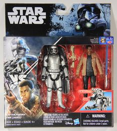 Star Wars Rogue One 3 3//4-Inch 2-Packs Wave 3 Captain Phasma /& Finn
