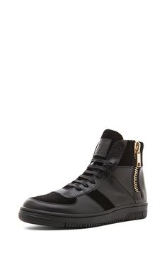 Marc Jacobs|Roller Leather Sneaker in Black