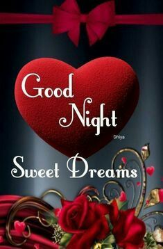 Good Night Images With Heart Good Night Love Images Romantic Good Night Good Night Sweetheart