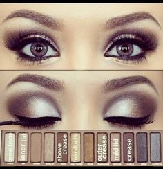 Smokey Eyes Using Naked Pallet