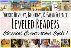 Cycle 1 Readers: History and Science