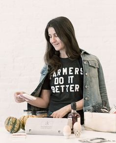Style Story: Laura Ferrara, farmers do it better / Garance Doré