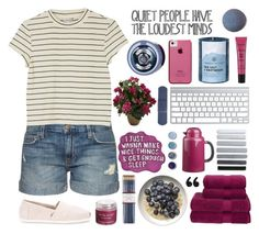 """""""✧;; (top set) being blue is better than being over it // rtd for me rambling"""" by kickitap ❤ liked on Polyvore featuring Current/Elliott, Monki, Sara Happ, Stila, Christy, Nearly Natural, Case-Mate, Bodum, Chesapeake Bay Candle and The Body Shop"""
