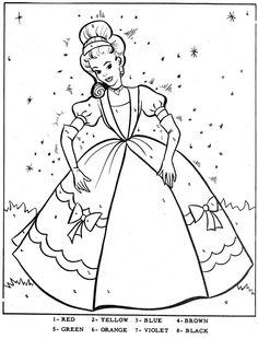 unknown color by number coloring pages | 1000+ images about * SPROOKJES: kleurplaten! on Pinterest ...