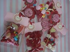 Gorgeous lolly bags