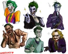 various Jokers